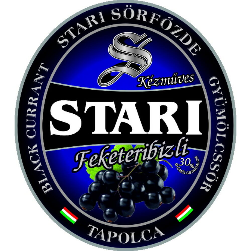 Stari Fekete Ribizli 0,33L