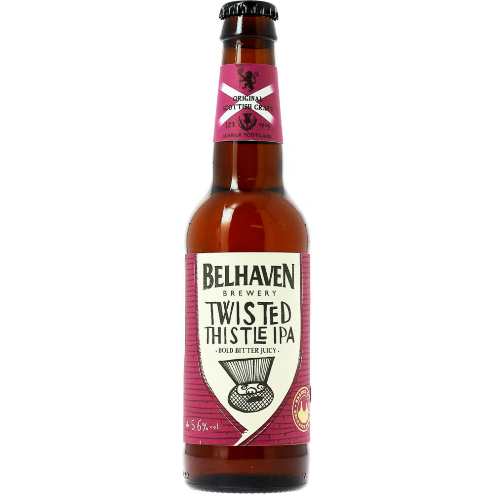 Belhaven Brewery Twisted Thistle IPA 0,33L