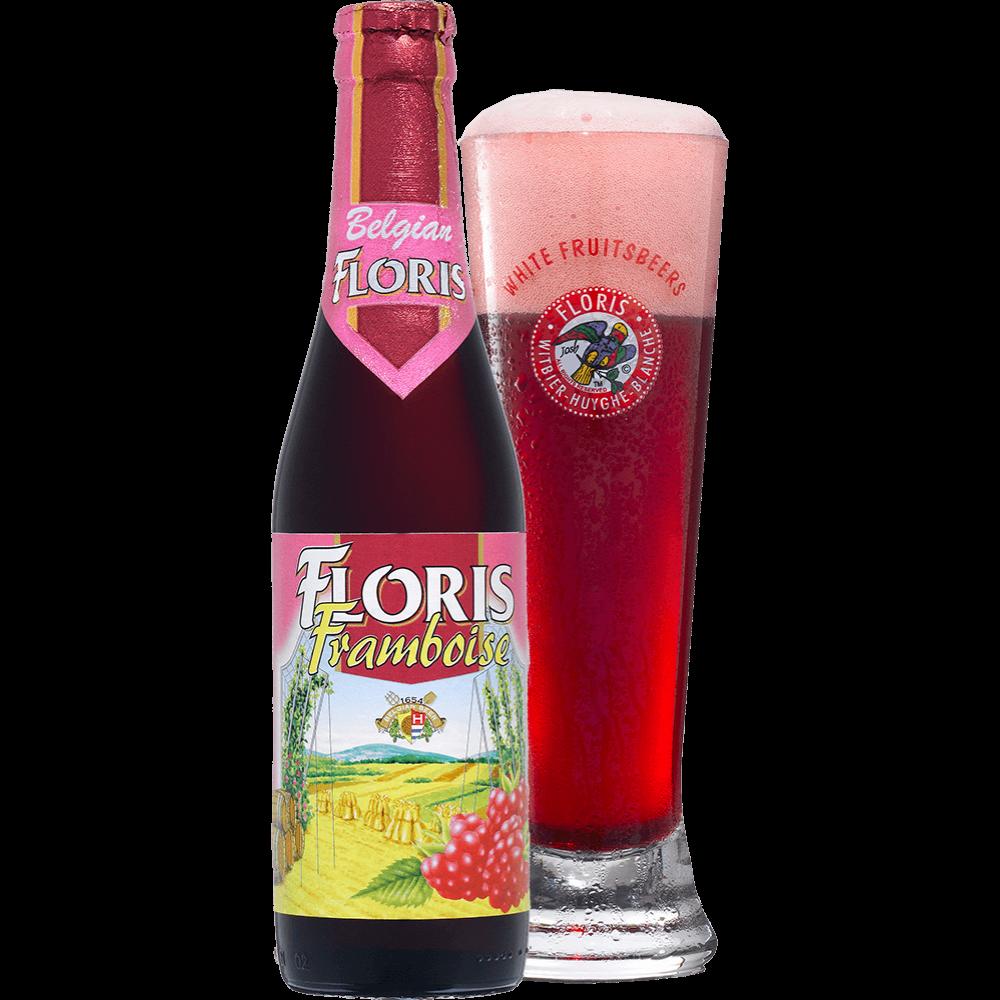 Floris Framboise Málnás Búzasör 0,33L
