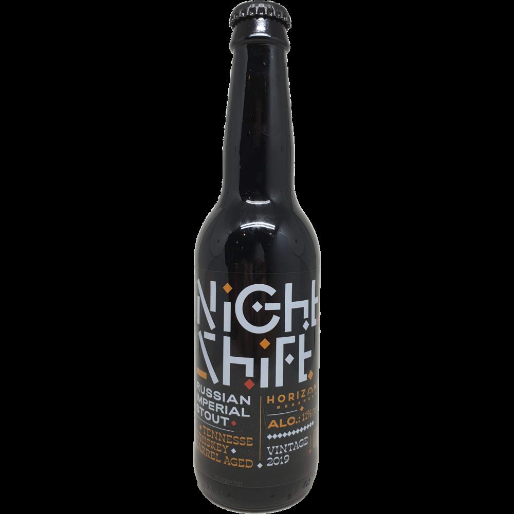 Horizont Night Shift 2019 Tennessee Whiskey BA 0,33L