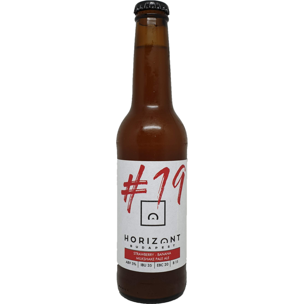 Horizont Pilot Series #19 Strawberry Banana Milkshake Pale Ale 0,33L