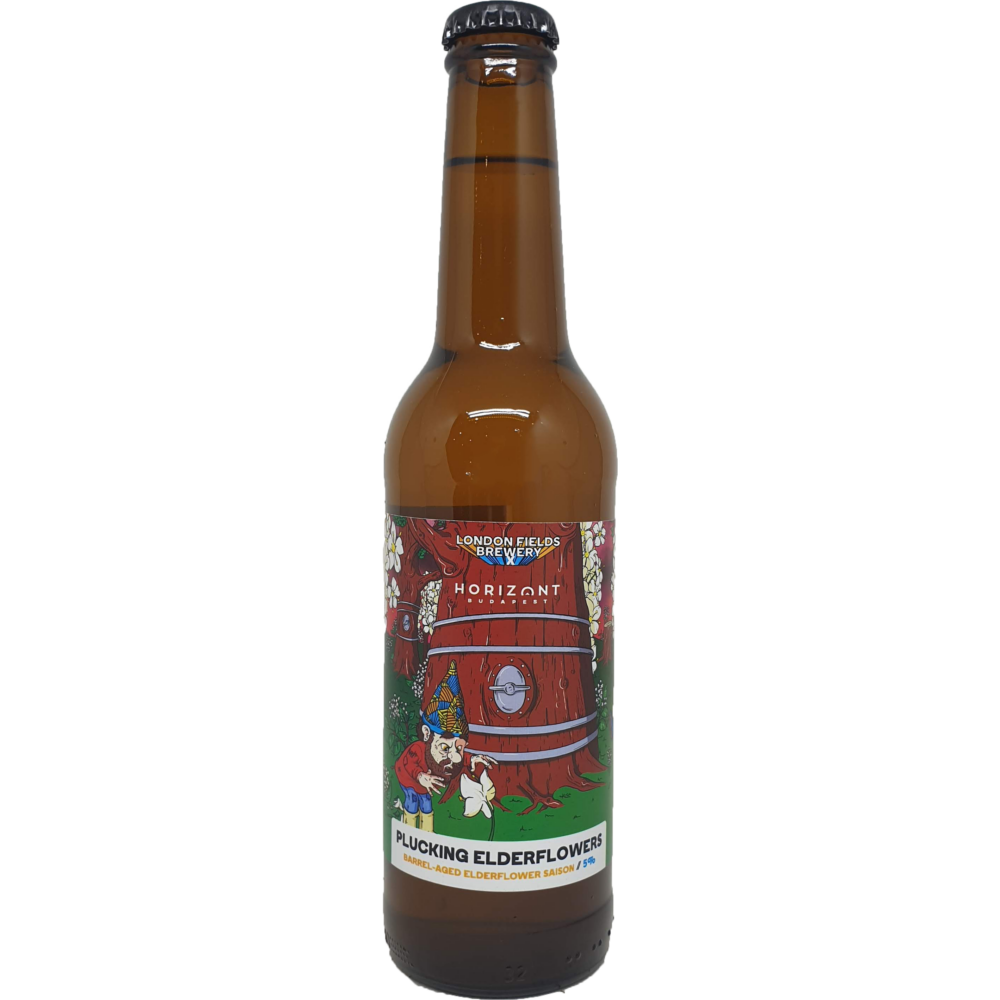 Horizont & London Fields Brewery Plucking Elderflowers