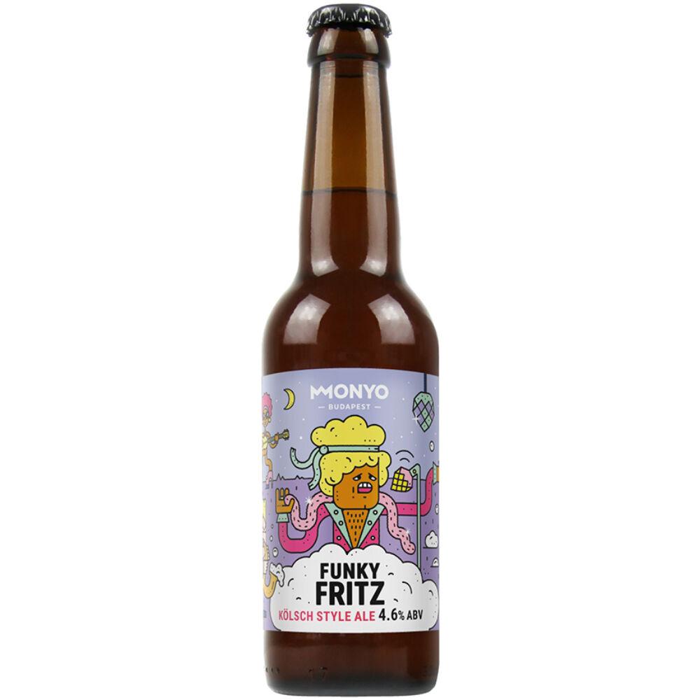 Monyo Funky Fritz Kölsch Style Ale 0,33L