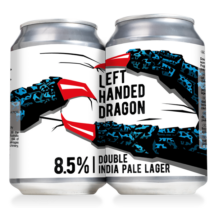 Reketye & Left Hand Brewing - Left Handed Dragon - Double India Pale Lager 0,33L