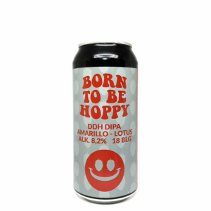 Monkey Browar Born to be Hoppy Amarillo - Lotus 0,44L