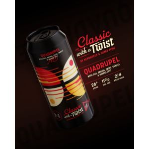 Funky Fluid Classic With a Twist #1: Quadrupel 0,5L