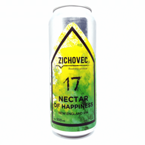 Zichovec Nectar Of Happiness 17 0,5L