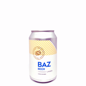 BAZ Beer Pilseni 0,33L can