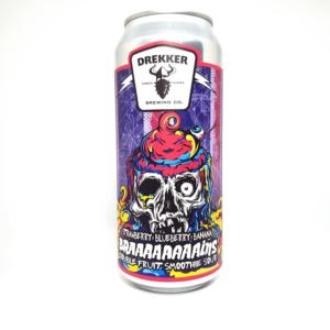 Drekker - Braaaaaaaains - Strawberry, Blueberry, Banana -473 ML Can