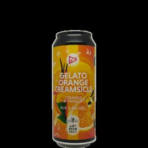 Funky Fluid Gelato: Orange Creamsicle 0,5L