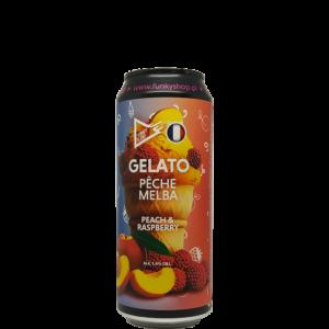 Funky Fluid Gelato: Peche Melba 0,5L