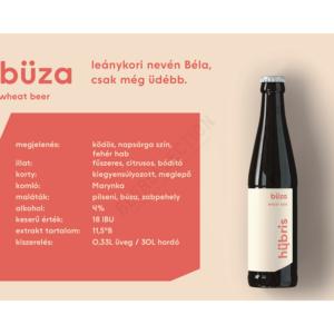 Hübris Büza aka Dr. Béla 0,33L