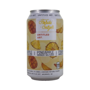 Untitled Art Florida Seltzer Mango Pineapple 0,355L Can