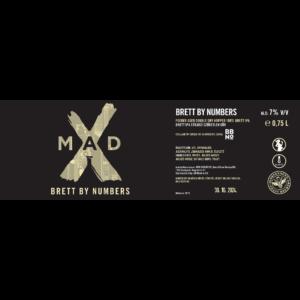 MadX Brett by Numbers 0,75L