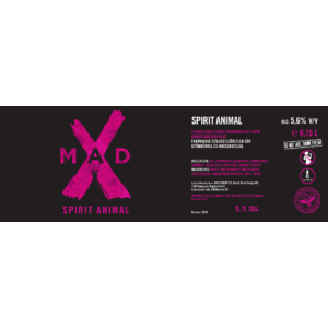 MadX Spirit Animal 0,75L