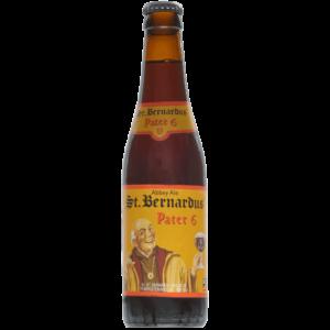 St. Bernardus Pater 6 Apátsági Dubbel 0.33L
