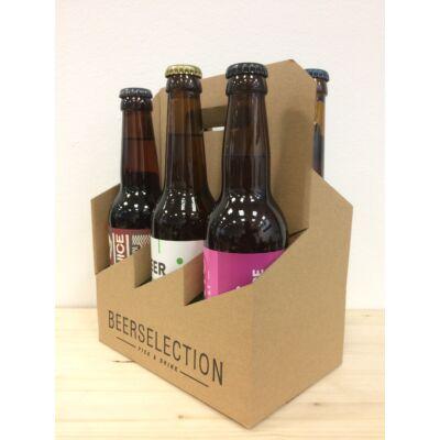 6 db-os Hordozó Karton Díszdoboz - Kizárólag 0,33L-es sörökhöz