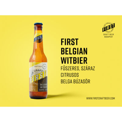 First - Belgian Witbier 0,33L