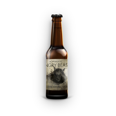 Hopfanatic - Angry Beast Russian Imperial Stout 0,33L