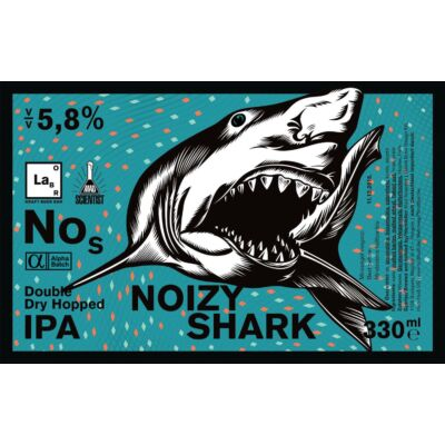 Mad Scientist - Noizy Shark New England IPA 0.33L