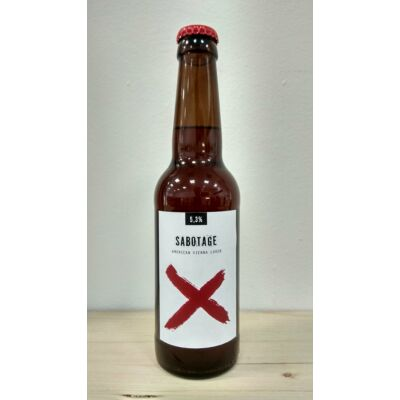 Bázis Sörfõzde & OK Brewery Sabotage American Vienna Lager 0.33L