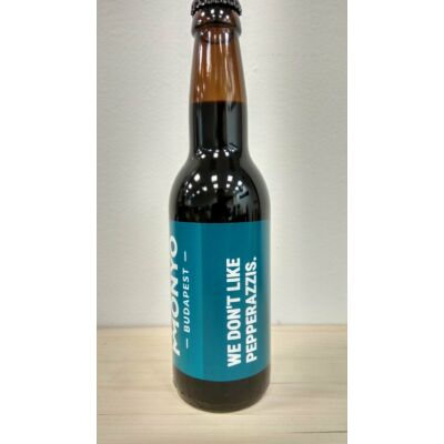 Monyo - We don't like pepperazzis Russian Imperial Milk Stout 0.33l