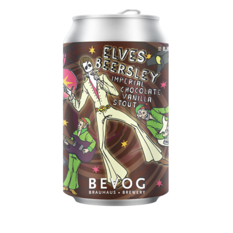 Bevog WHO CARES Elves Beersley Imperial chocolate&vanilla stout 0,33L