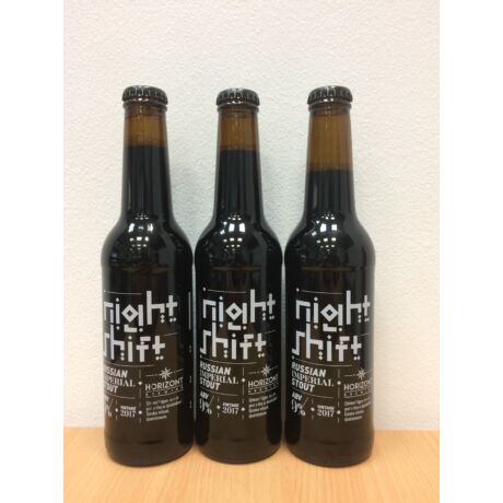 Horizont Night Shift - Russian Imperial Stout 0,33L
