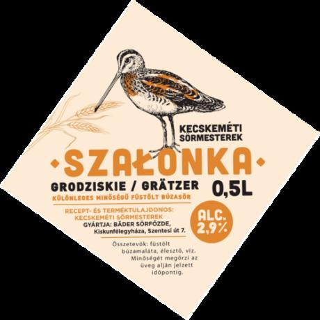 Kecskeméti Sörmesterek - Szalonka Füstölt Búzasör 0,5L
