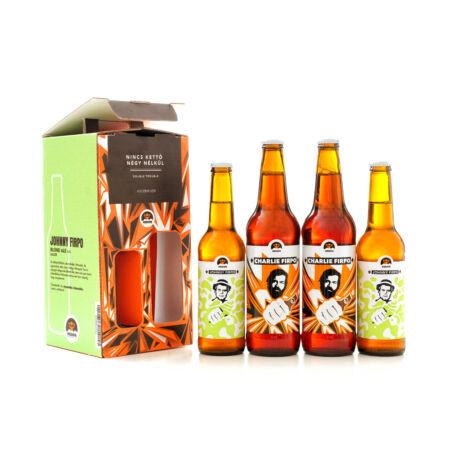 Nincs Kettő Négy Nélkül Díszcsomag 2x2db sör