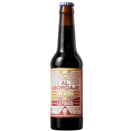 Brewdog vs La Pirata Al Abordaje! Barley Wine 0.33L