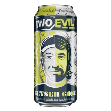 Two Roads / Evil Twin Brewing - Geyser Gose 0.475L can