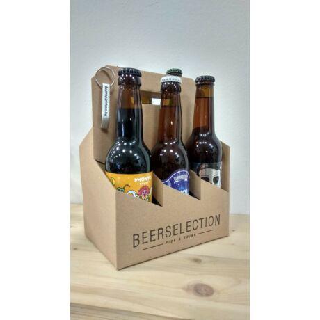 TOP6 PAKK -  6 sörkategória, 6 legnépszerűbb söre