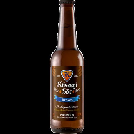 Kőszegi Sör - Brown - Belgian Dubbel 0.33L