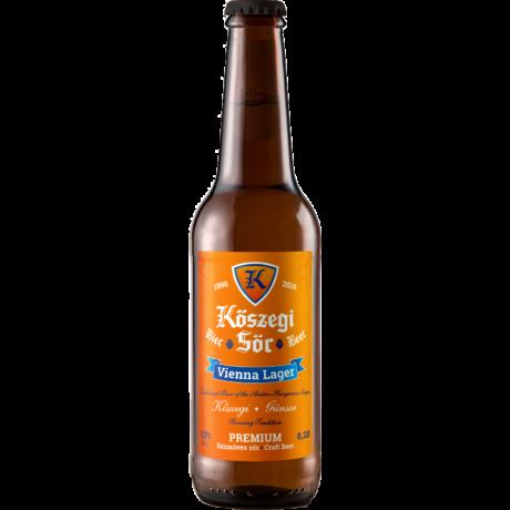 Kőszegi Sör Bécsi Lager 0,33L