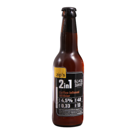 zip's 2in1 Coffee Infused Witbier 0,33L