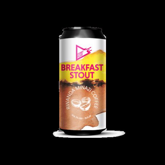 Funky Fluid Breakfast Stout: Rwanda Minazi Coffee 0,5L