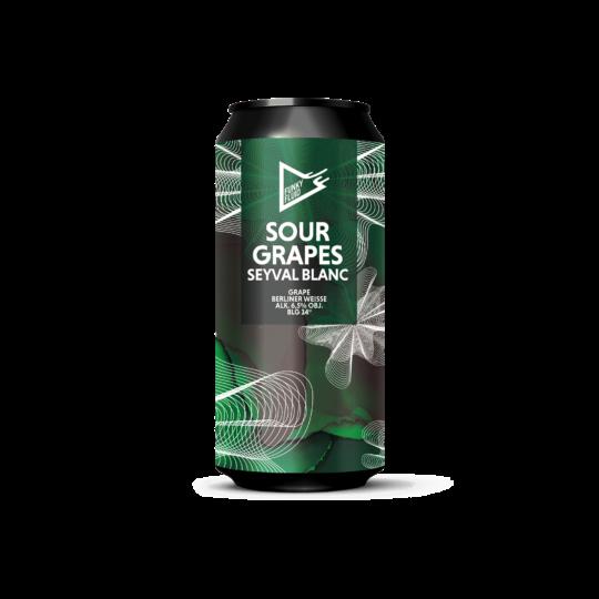 Funky Fluid  Sour Grapes: Seyval Blanc 0,5L
