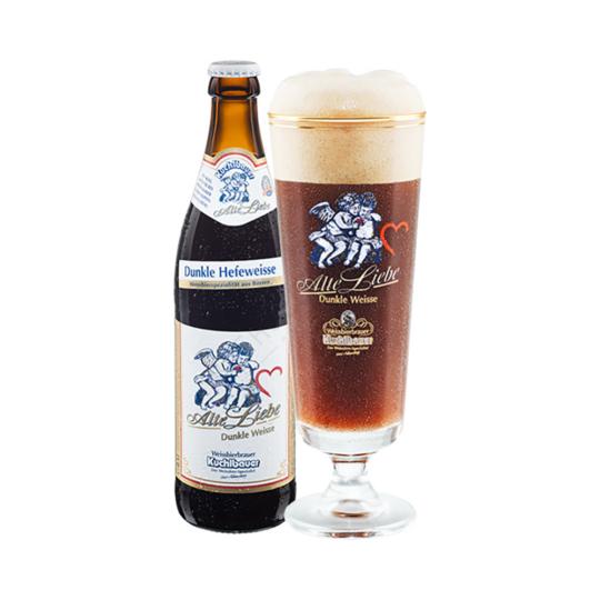 Kuchlbauer Alte Liebe Weizen Dunkel 0,5L