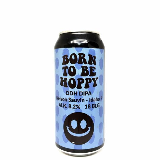 Monkey Browar Born to be Hoppy Nelson Sauvin - Idaho 7 0,44L