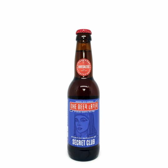 One Beer Later Secret Club (Rivesaltes Barrel) 0,33L