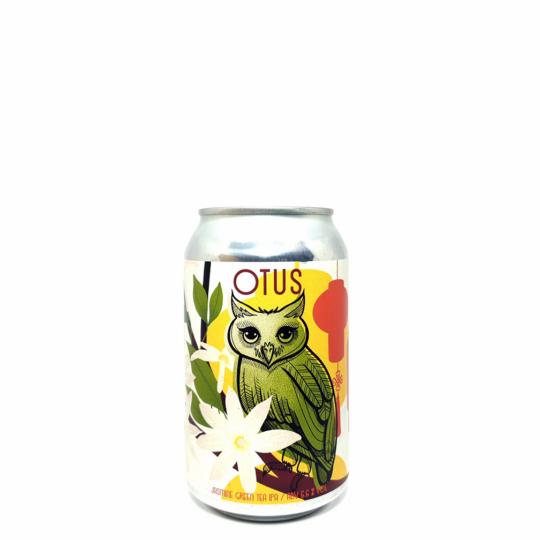 OWL Otus Jasmine Green Tea 0,33L