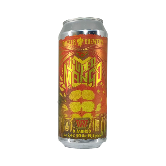 Panzer Brewery Super Mango 0,5L
