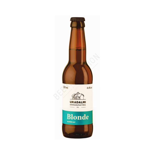 Uradalmi Sörmanufaktúra Blonde 0.33L