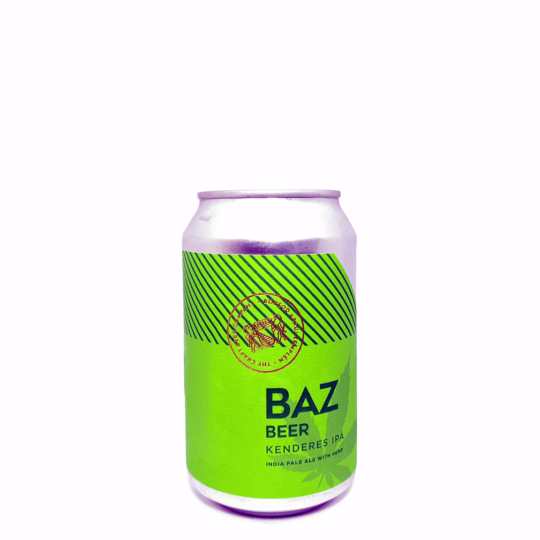 BAZ Beer Kenderes IPA 0,33L can