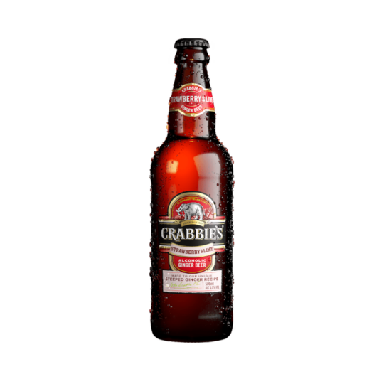 Crabbies Strawberry & Lime 0,5L