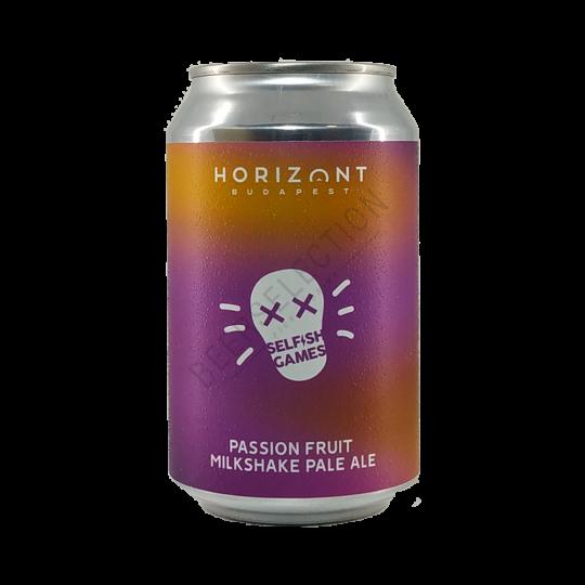 Horizont Brewing Selfish Games Passion Fruit Milkshake Pale Ale