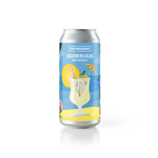 Hop Hooligans Vacation in a Glass 0,5L