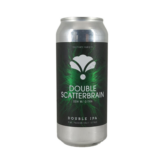 Bearded Iris Brewing Double Scatterbrain DDH Citra 0,473L