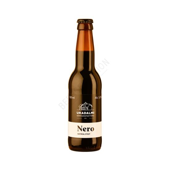 Uradalmi Sörmanufaktúra Nero Barrel Aged Oatmeal Stout 0.33L